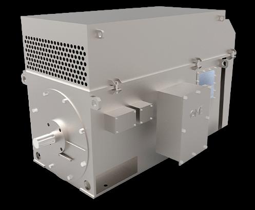 Двигатели с контактным кольцом OMA High Voltage